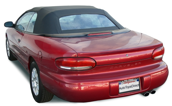 1997 Chrysler sebring convertible jxi problems