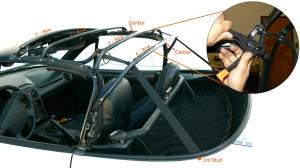 Mazda Miata Strap Installation